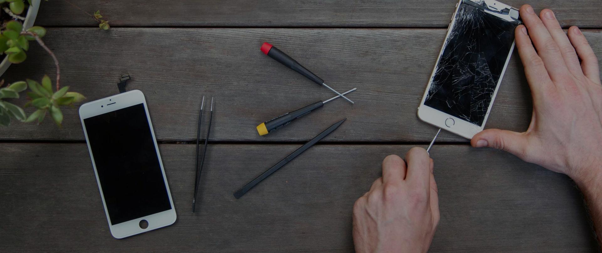 Wir reparieren dein Smartphone!